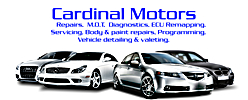 Cardinal Motors Wolverhampton Logo